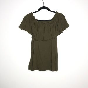 Chaser Size Small Bardot Off the Shoulder Top